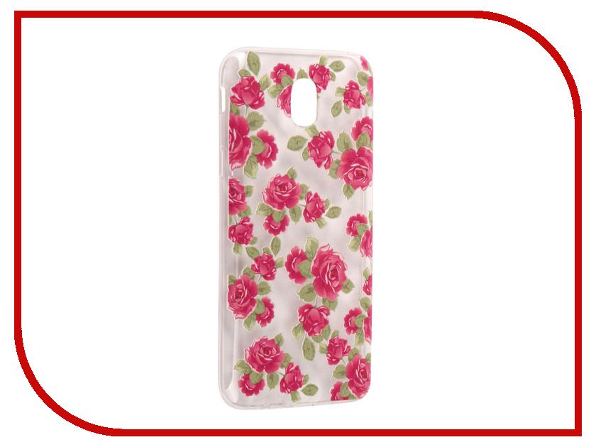 Аксессуар Чехол Samsung Galaxy J5 2017 With Love. Moscow Silicone Flower 5 5165