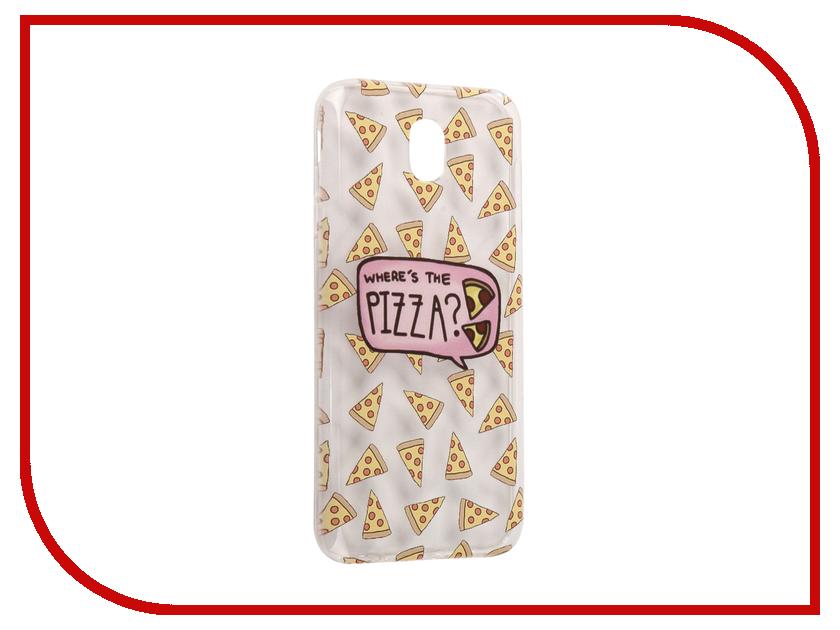 Аксессуар Чехол Samsung Galaxy J7 2017 With Love. Moscow Silicone Pizza 5180 аксессуар чехол samsung galaxy a7 2017 with love moscow silicone russia 5090
