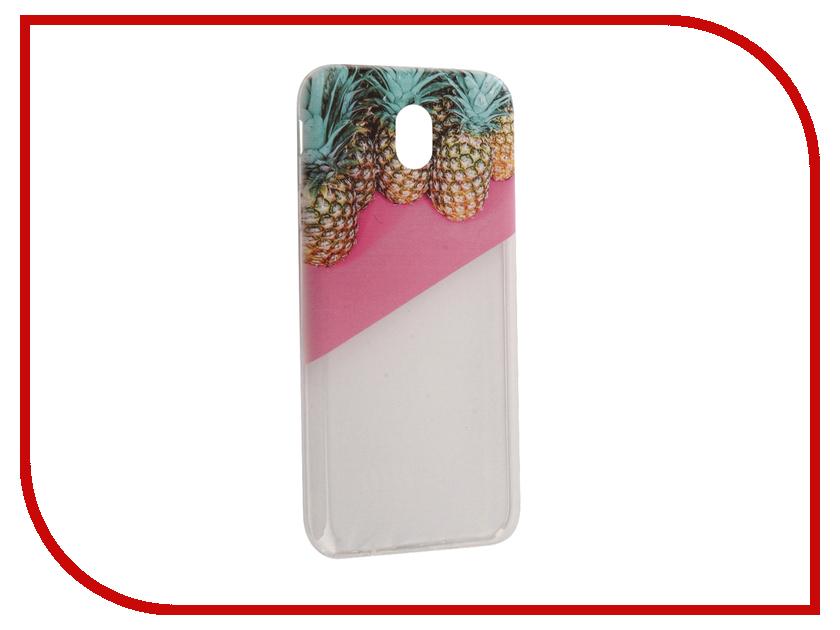 Аксессуар Чехол Samsung Galaxy J7 2017 With Love. Moscow Silicone Pineapples 2 5183