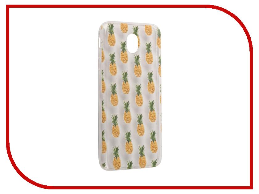 Аксессуар Чехол Samsung Galaxy J7 2017 With Love. Moscow Silicone Pineapples 5184