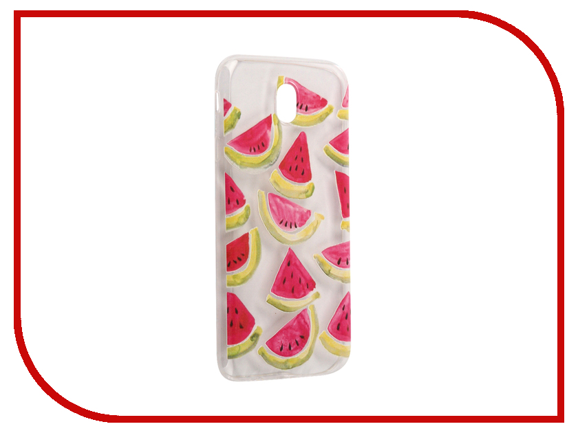 Аксессуар Чехол Samsung Galaxy J7 2017 With Love. Moscow Silicone Watermelon 3 5185 аксессуар чехол samsung galaxy j7 2017 with love moscow silicone palm 5210