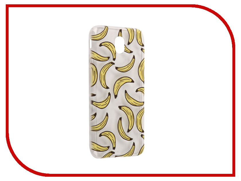 Фото Аксессуар Чехол Samsung Galaxy J7 2017 With Love. Moscow Silicone Bananas 5186