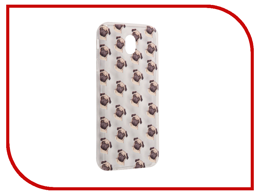 Аксессуар Чехол Samsung Galaxy J7 2017 With Love. Moscow Silicone Pugs 5208 аксессуар чехол samsung galaxy j7 2017 with love moscow silicone palm 5210