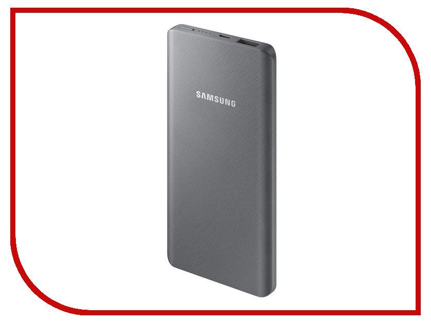 Аккумулятор Samsung microUSB 5000mAh SAM-EB-P3020BSRGRU Gray аксессуар чехол samsung j3 2017 j330f zibelino clear view black zcv sam j330 blk