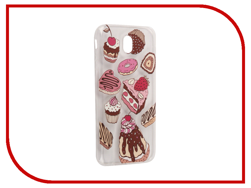 Аксессуар Чехол Samsung Galaxy J7 2017 With Love. Moscow Silicone Sweets 5215 аксессуар чехол samsung galaxy j7 2017 with love moscow silicone palm 5210