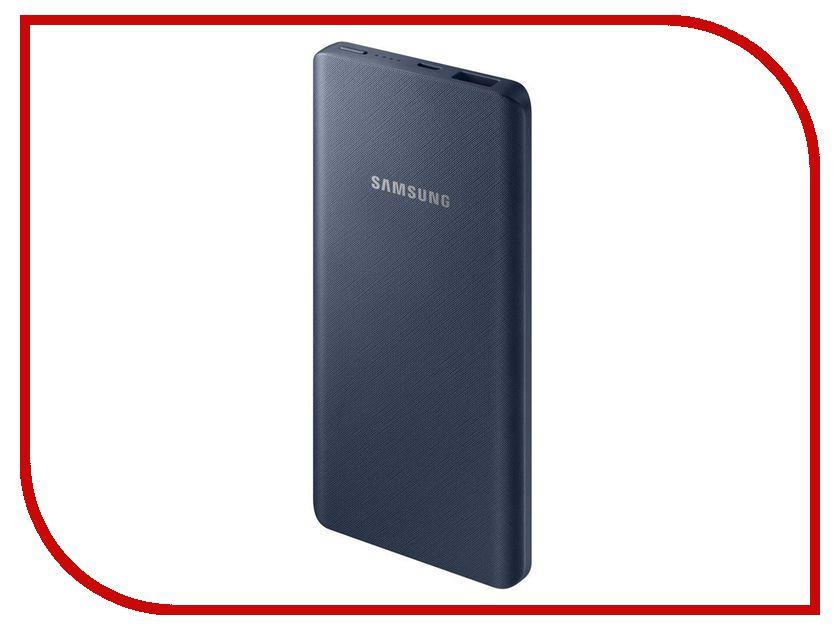 Аккумулятор Samsung microUSB 5000mAh SAM-EB-P3020BNRGRU Dark Blue аксессуар чехол samsung j3 2017 j330f zibelino clear view black zcv sam j330 blk