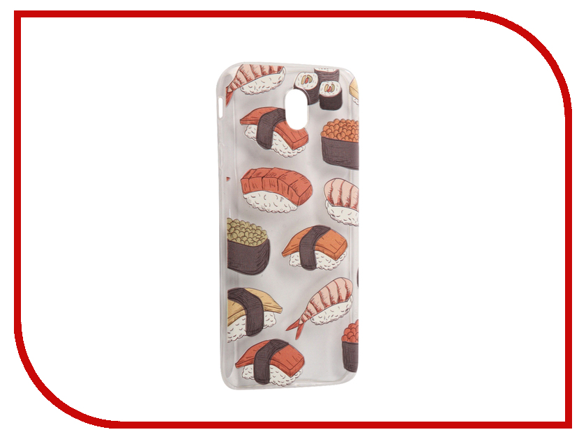 Аксессуар Чехол Samsung Galaxy J7 2017 With Love. Moscow Silicone Sushi 5217 stylish sushi tool vegetables combine with meat sushi machine
