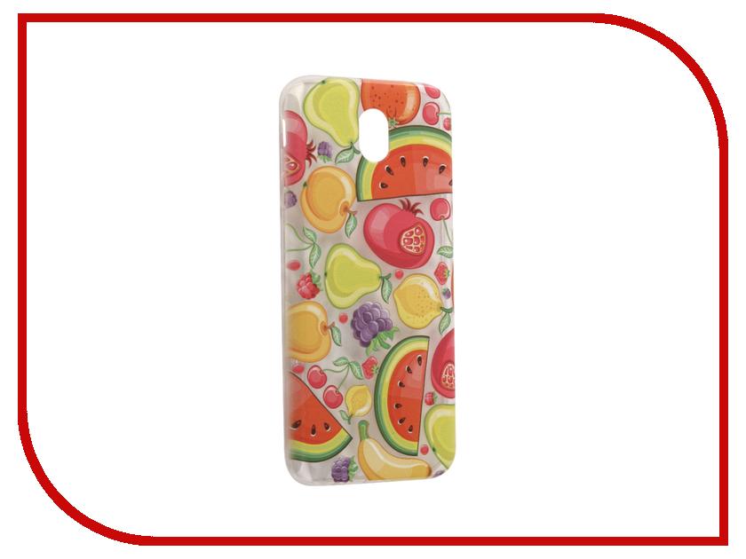 Аксессуар Чехол Samsung Galaxy J7 2017 With Love. Moscow Silicone Fruit 5218 аксессуар чехол samsung galaxy j5 2017 with love moscow silicone fruit 5162