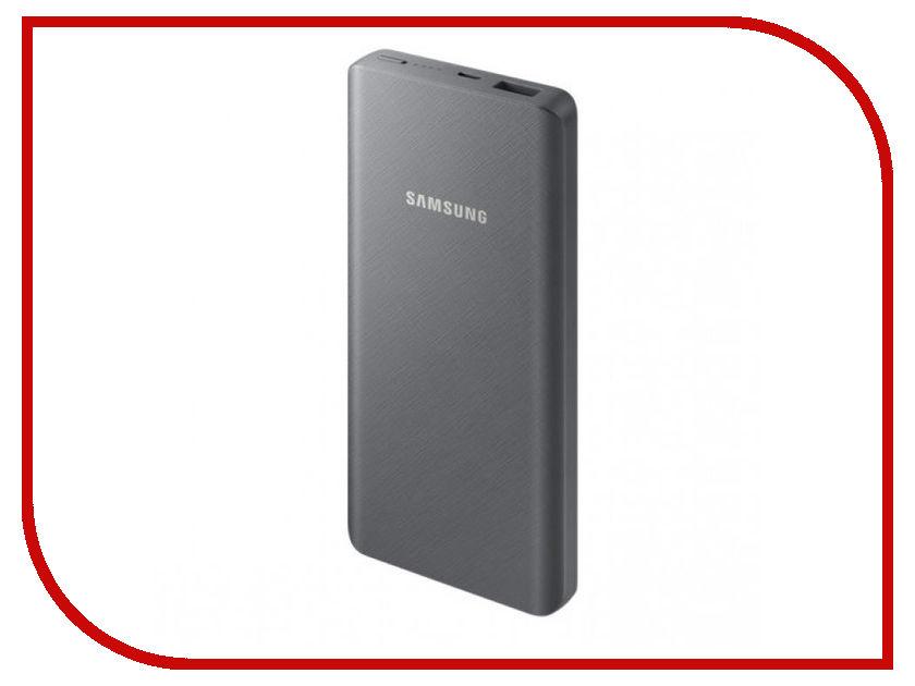 Аккумулятор Samsung microUSB 10000mAh SAM-EB-P3000BSRGRU Gray аккумулятор samsung microusb 11300mah white sam eb pn915bwrgru