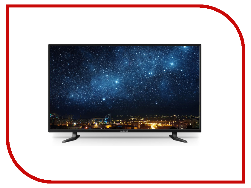 Телевизор Daewoo Electronics L43S645VTE пылесос daewoo rgj 220s