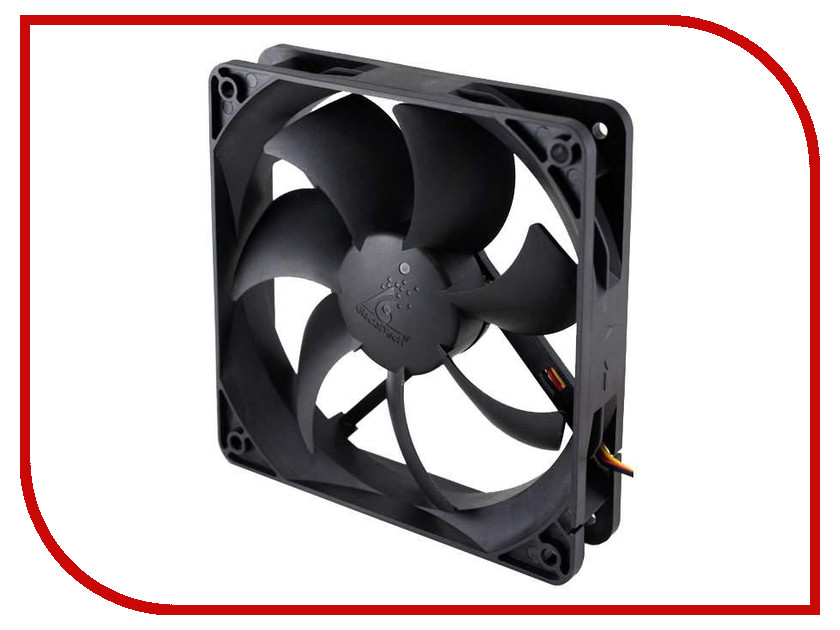 Вентилятор GlacialTech GT12025-LWD0B 120x120x25mm CF-1225WED0AB1031 glacialtech gt9225 edlb1