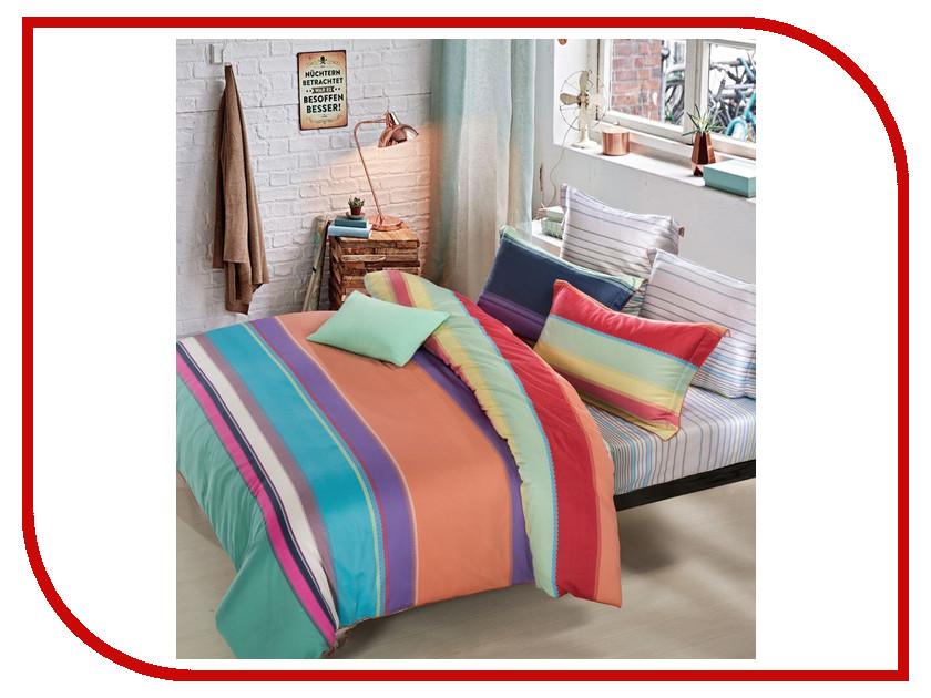 Постельное белье Estro Arcobaleno Комплект Евро Мако-Сатин YGC3223ABP постельное белье estro постельное белье евро мако сатин beatricia