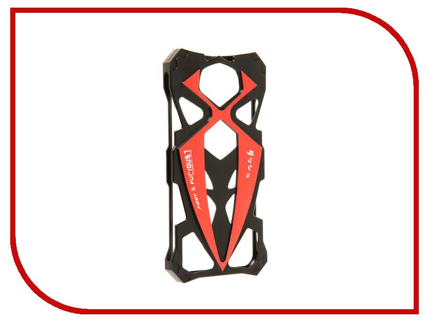 Аксессуар Чехол Luphie для iPhone 7 Creative Sports Car Black-Red PX/LUPH-IPH7-SPORTCAR-br аксессуар чехол uag plasma cobalt для apple iphone 7 blue iph7 6s l cb