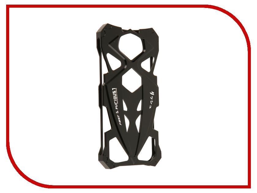 Аксессуар Чехол Luphie для iPhone 7 Creative Sports Car Black-Black PX/LUPH-IPH7-SPORTCAR-bb luphie combo tough aluminium alloy armor case for iphone 6s 4 7 inch black