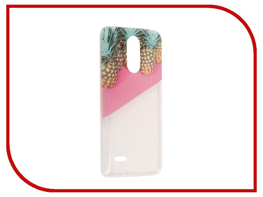 Аксессуар Чехол LG K8 2017 With Love. Moscow Silicone Pineapples 2 5631 аксессуар чехол lg k8 2017 with love moscow silicone cocktails 5649