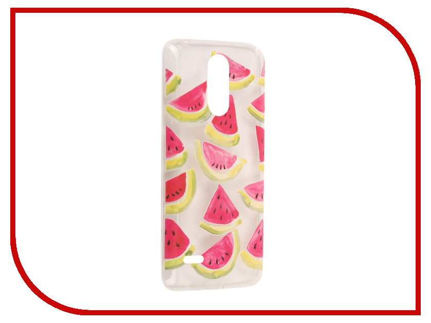 Аксессуар Чехол LG K8 2017 With Love. Moscow Silicone Watermelon 3 5633 аксессуар чехол with love moscow для lg stylus 3 кожаный black 10217