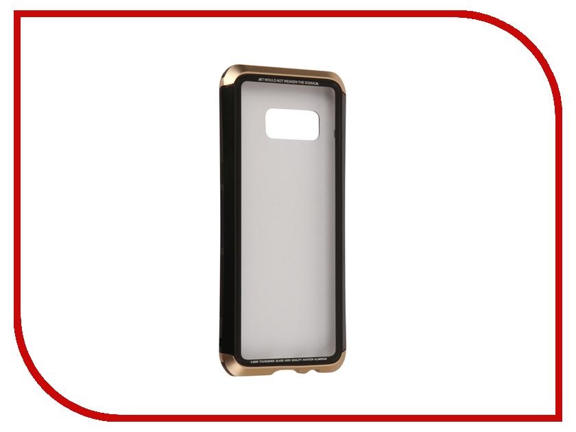 Аксессуар Чехол Samsung Galaxy S8 Luphie Double Dragon Black-Gold PX/LUPH-S8-DDRAGON-bg оригинальный samsung galaxy s8 s8 plus nillkin 3d ap pro полноэкранный экранный протектор экрана
