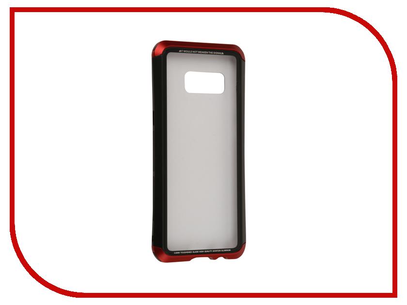 Аксессуар Чехол Samsung Galaxy S8 Luphie Double Dragon Black-Red PX/LUPH-S8-DDRAGON-br оригинальный samsung galaxy s8 s8 plus nillkin 3d ap pro полноэкранный экранный протектор экрана