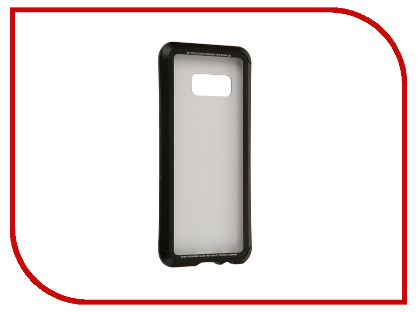 Аксессуар Чехол Samsung Galaxy S8 Luphie Double Dragon Black-Black PX/LUPH-S8-DDRAGON-bb оригинальный samsung galaxy s8 s8 plus nillkin 3d ap pro полноэкранный экранный протектор экрана