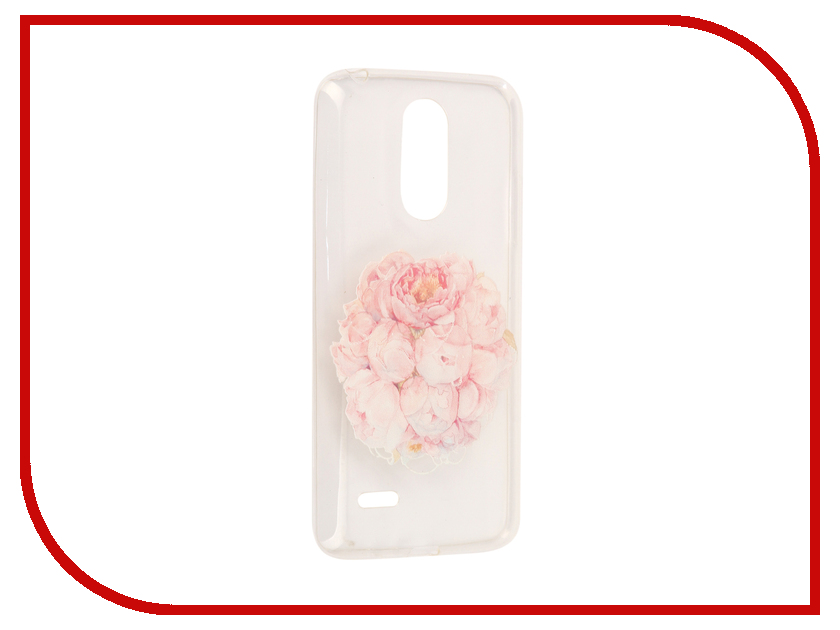 Аксессуар Чехол для LG K8 2017 With Love. Moscow Silicone Flowers 5668