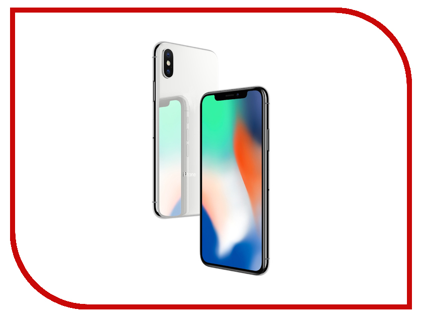 Сотовый телефон APPLE iPhone X - 64Gb Silver MQAD2RU/A