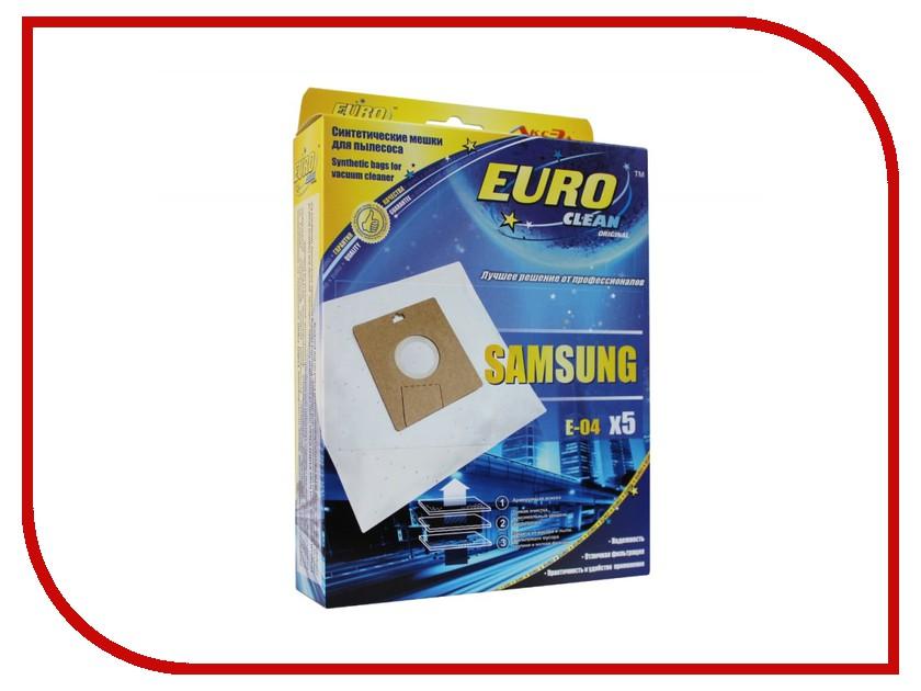 Аксессуар EURO Clean E-04/5 мешок-пылесборник для Samsung VP-95 мешок пылесборник neolux vp 95