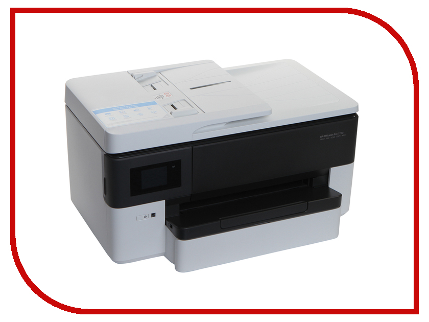 МФУ HP OfficeJet Pro 7720 Y0S18A принтер hewlett packard hp officejet 100 moblie