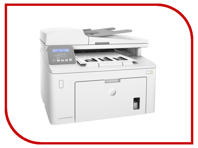 МФУ HP LaserJet Ultra M230sdn hewlett packard hp color laserjet pro mfp m277n цветной лазерный мфу