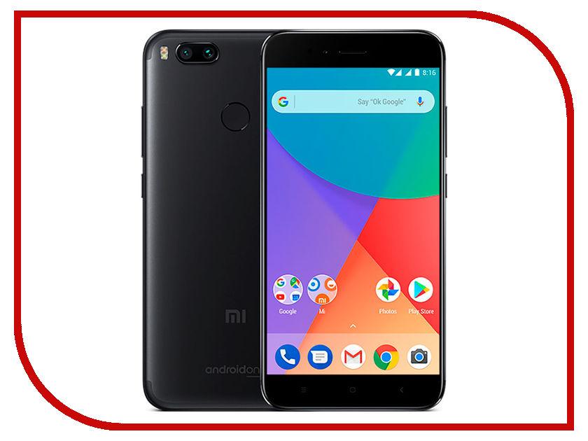 Сотовый телефон Xiaomi Mi A1 64Gb Black сотовый телефон xiaomi mi note 3 64gb black