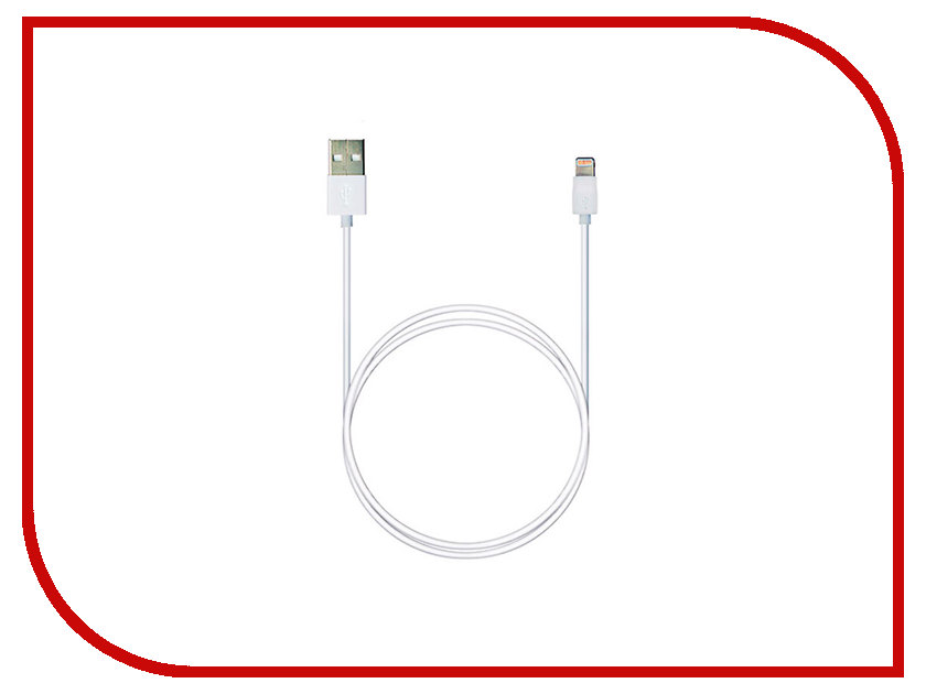 Аксессуар Robiton USB - Lightning 8pin 1m White 14670 зарядное устройство robiton smart s100 robiton