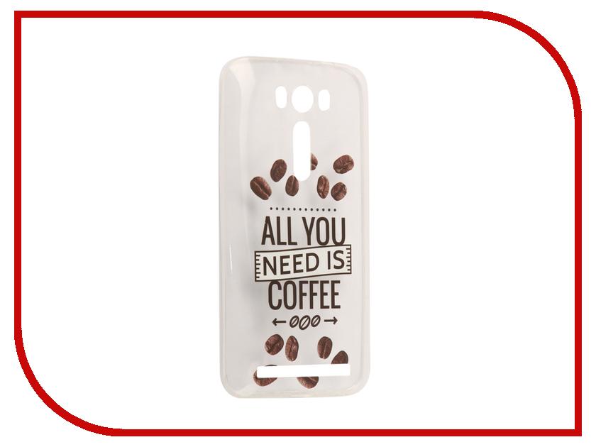 Аксессуар Чехол Asus ZenFone 2 ZE500KL Laser 5.0 With Love. Moscow Silicone Coffee 5785 чехлы для телефонов with love moscow силиконовый дизайнерский чехол для meizu m3s перья