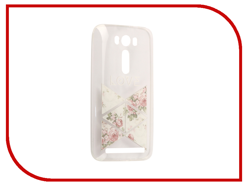Аксессуар Чехол Asus ZenFone 2 ZE500KL Laser 5.0 With Love. Moscow Silicone Love 2 5791 love