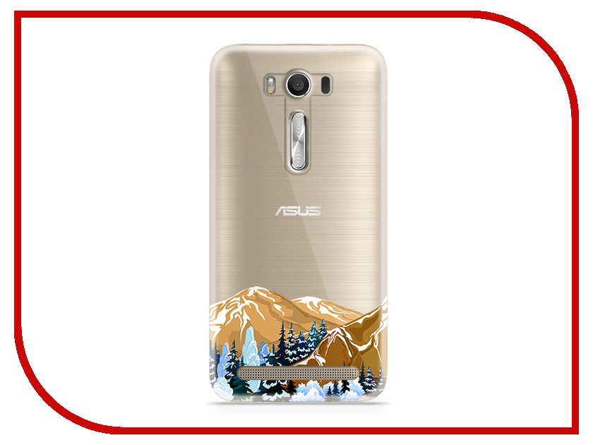 Аксессуар Чехол Asus ZenFone 2 ZE500KL Laser 5.0 With Love. Moscow Silicone Mountains 5806 higher calling road cycling's obsession with the mountains