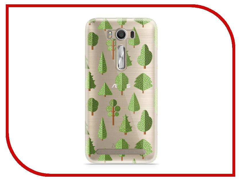 Аксессуар Чехол Asus ZenFone 2 ZE500KL Laser 5.0 With Love. Moscow Silicone Trees 5811 телефон асус зенфон 2 лазер ze500kl отзывы