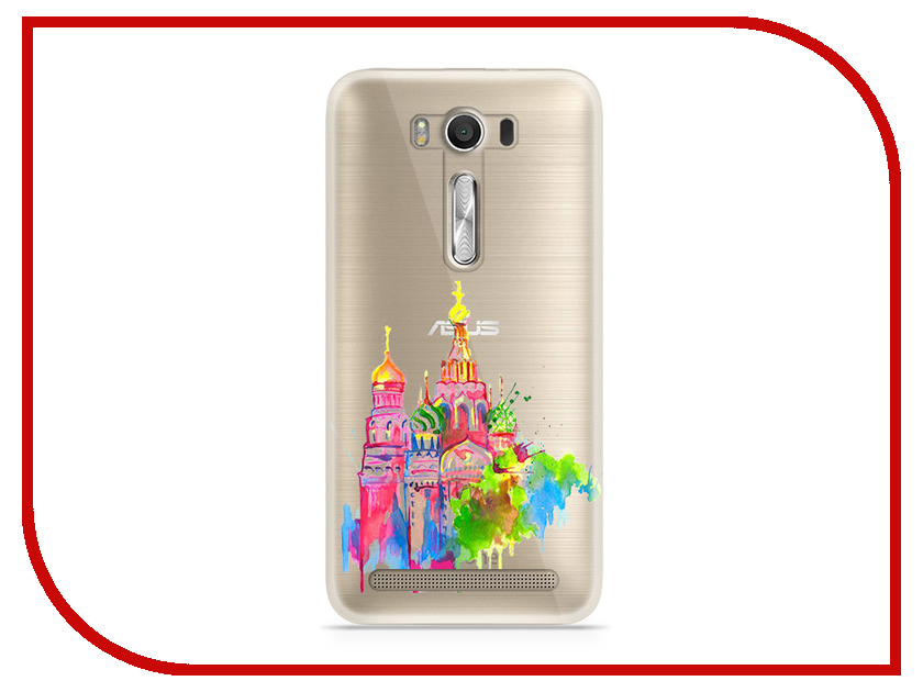 Аксессуар Чехол Asus ZenFone 2 ZE500KL Laser 5.0 With Love. Moscow Silicone Russia 5818 аксессуар чехол samsung galaxy a7 2017 with love moscow silicone lips 5080