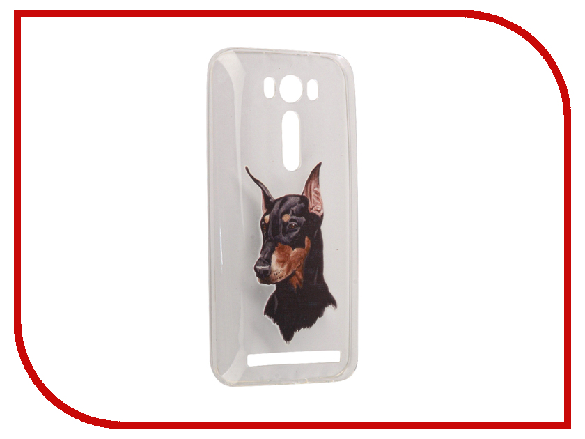 Аксессуар Чехол Asus ZenFone 2 ZE500KL Laser 5.0 With Love. Moscow Silicone Dog 5832 ребекка блум