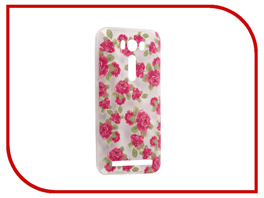 Аксессуар Чехол Asus ZenFone 2 ZE500KL Laser 5.0 With Love. Moscow Silicone Flower 5 5837 ze500kl 1a435ru