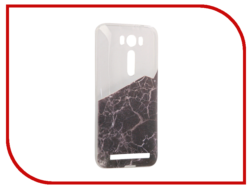 Аксессуар Чехол Asus ZenFone 2 ZE500KL Laser 5.0 With Love. Moscow Silicone Black Marble 2 5838 ze500kl 1a435ru