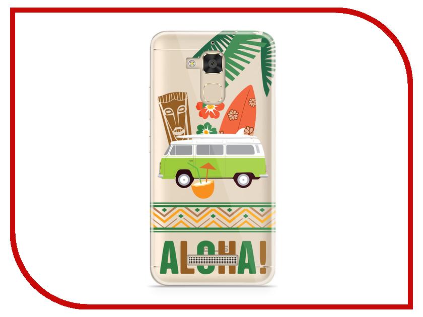 Аксессуар Чехол Asus ZenFone 3 Max ZC520TL With Love. Moscow Silicone Aloha 5840 чехлы для телефонов with love moscow силиконовый дизайнерский чехол для meizu m3s перья