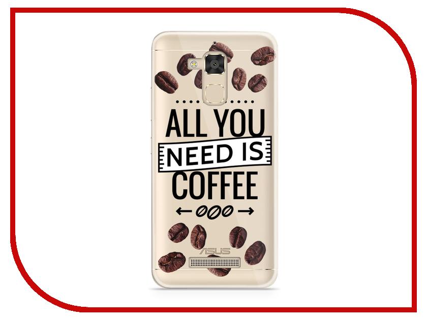 Аксессуар Чехол Asus ZenFone 3 Max ZC520TL With Love. Moscow Silicone Coffee 5841 чехлы для телефонов with love moscow силиконовый дизайнерский чехол для meizu m3s перья