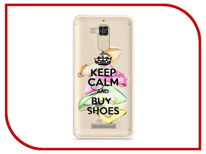 Аксессуар Чехол Asus ZenFone 3 Max ZC520TL With Love. Moscow Silicone Keep Calm 5846 комбинезон keep calm onesi j sfsh kshh