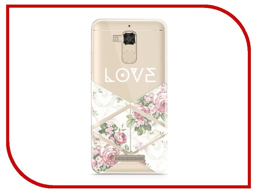 Аксессуар Чехол Asus ZenFone 3 Max ZC520TL With Love. Moscow Silicone Love 2 5847 love