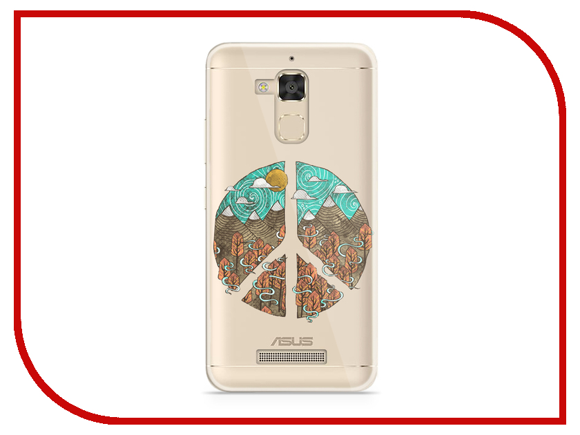 все цены на Аксессуар Чехол Asus ZenFone 3 Max ZC520TL With Love. Moscow Silicone Peace 5851