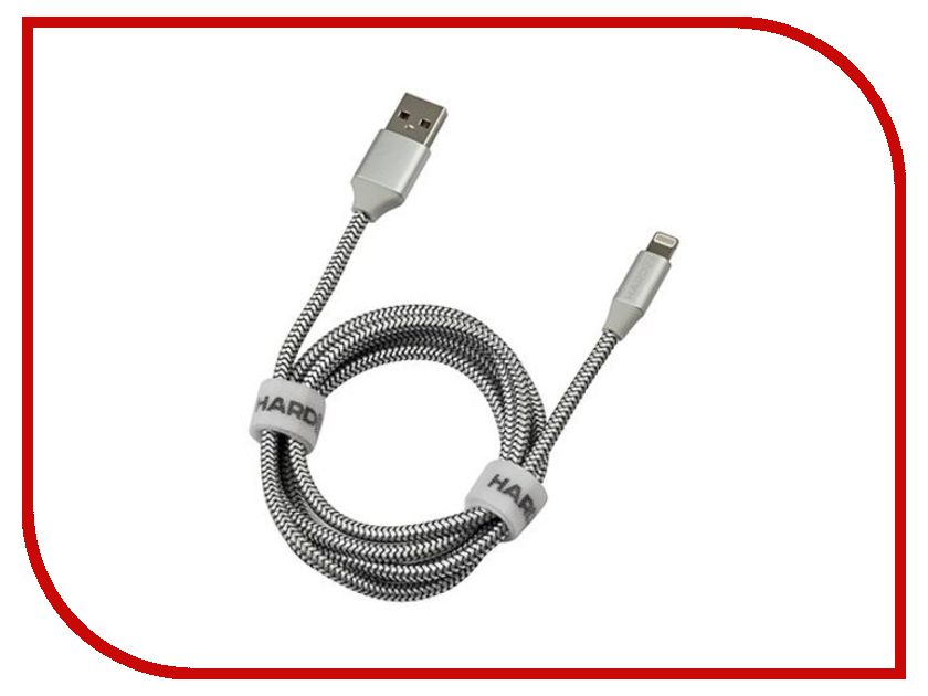 Аксессуар Hardiz Tetron MFI Lightning to USB Cable Silver HRD505201
