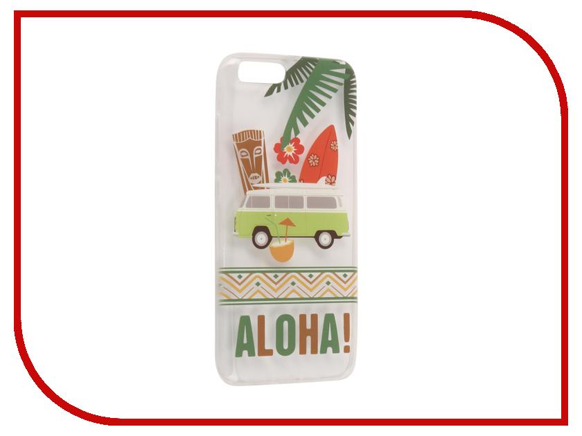 Аксессуар Чехол для Xiaomi Mi6 With Love. Moscow Silicone Aloha 6008 mantra 6008