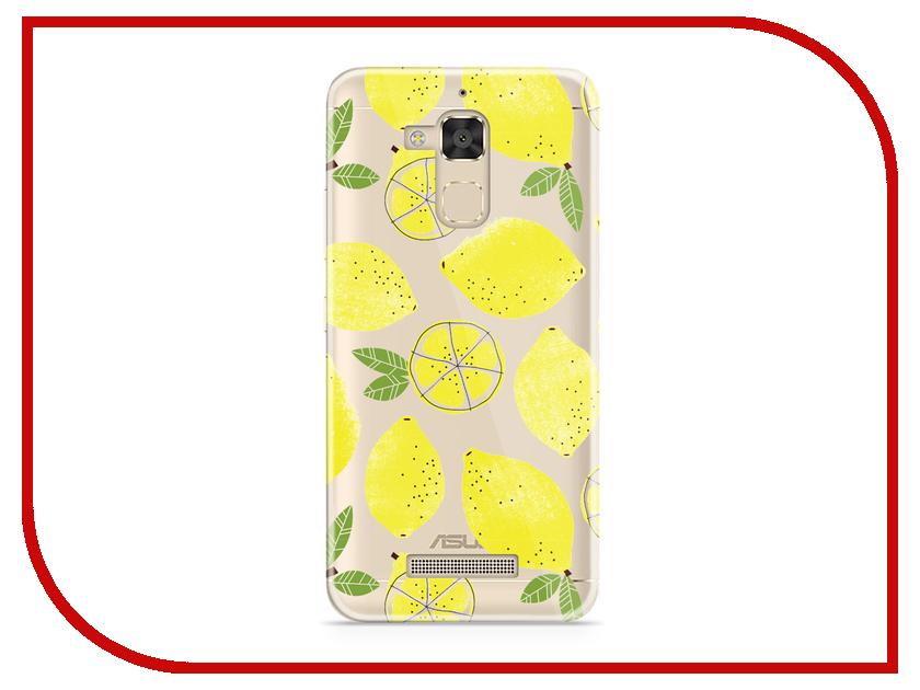 Аксессуар Чехол Asus ZenFone 3 Max ZC520TL With Love. Moscow Silicone Lemons 5877 асус zc520tl цена