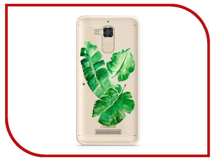Аксессуар Чехол Asus ZenFone 3 Max ZC520TL With Love. Moscow Silicone Leaves 5878 чехлы для телефонов with love moscow силиконовый дизайнерский чехол для meizu m3s перья