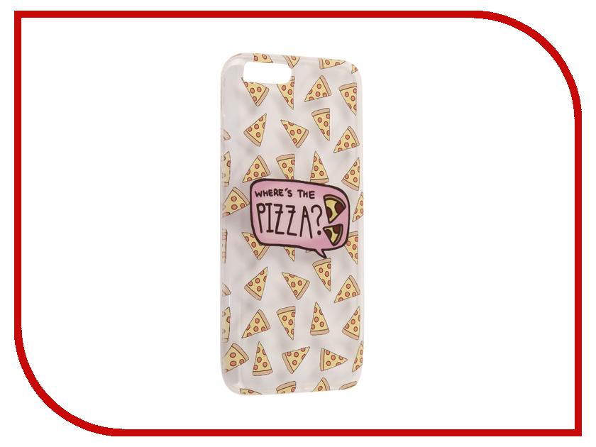 Аксессуар Чехол Xiaomi Mi6 With Love. Moscow Silicone Pizza 6020 чехлы для телефонов with love moscow силиконовый дизайнерский чехол для meizu m3s перья