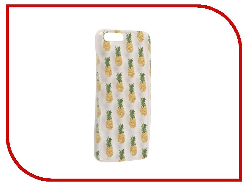 Аксессуар Чехол для Xiaomi Mi6 With Love. Moscow Silicone Pineapples 6024 аксессуар чехол xiaomi mi6 with love moscow silicone ice cream 6013
