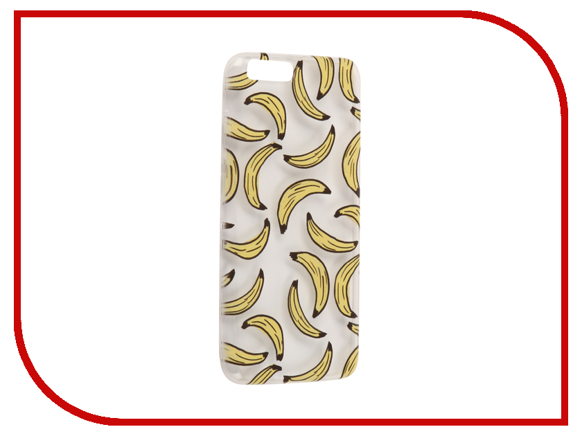 Аксессуар Чехол для Xiaomi Mi6 With Love. Moscow Silicone Bananas 6026 аксессуар чехол xiaomi mi6 with love moscow silicone ice cream 6013